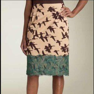 Anthro Leifsdottir sunset Migration Goose Skirt 4